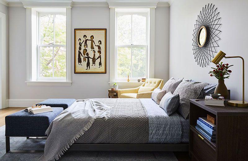 Спокойная элегантность интерьера таунхауса в Нью-Йорке〛 ◾ Фото.