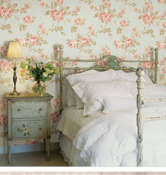 Pin av Angela Barrett Gray på Master Bedroom |  Lantligt sovrum.