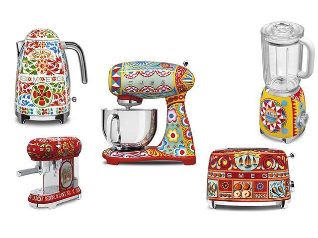 Att dö för: Smeg X Dolce & Gabbana köksmaskiner |  Kök .