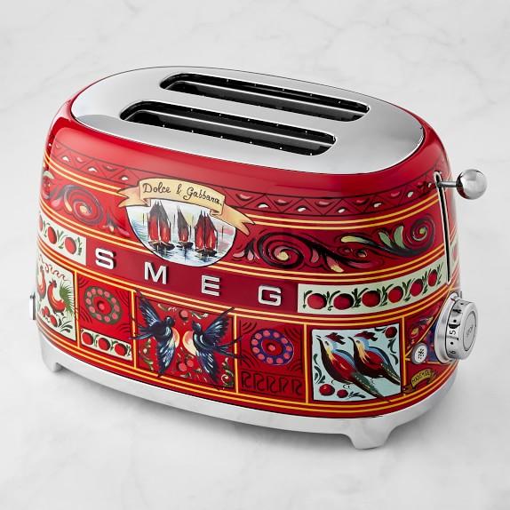 Smeg Dolce & Gabbana 2-Slice Brödrost |  Williams Sono