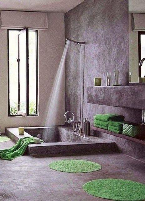 34 Drömmande sjunkna badkar för att koppla av i    Badrumsdesign.