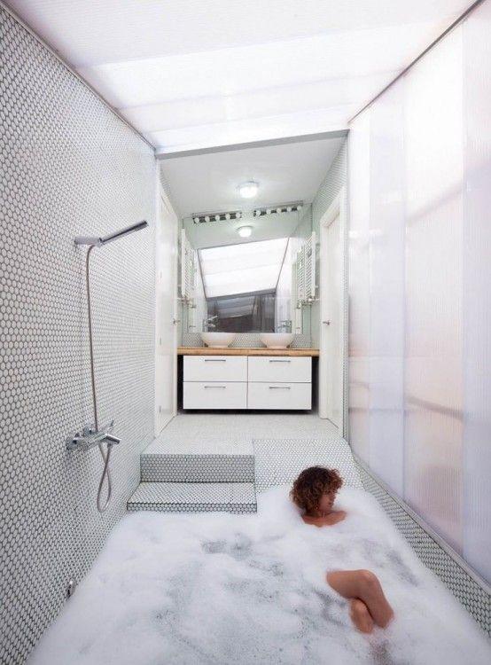 34 Drömmande sjunkna badkar för att koppla av i - DigsDigs    Badrum.