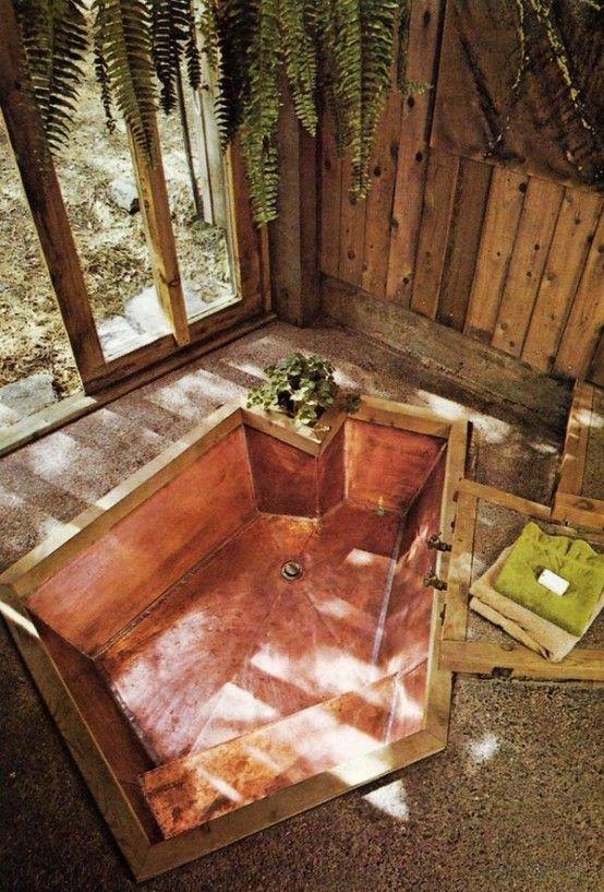 34 Drömmande sjunkna badkar för att koppla av i    DigsDigs    Häftigt .