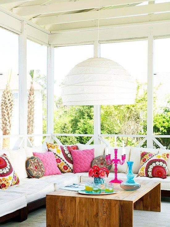 5 användbara tips för att dekorera en sommarveranda |  Decoración de unas.