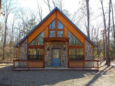Ole Blue -Modern, Rustik Cabin, WiFi, Hot Tub och mycket mer.