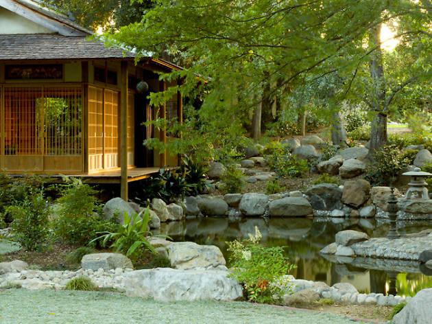 Storrier Stearns Japanese Garden |  Sevärdheter i Pasadena, Los.