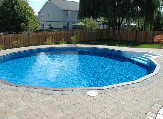 Vinyl Inground Round Pools - Westrock Poo