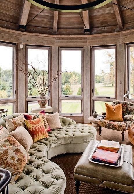 19 utrymmen gjorda vackert av vildt eklektiska möbler |  Eklektisk.