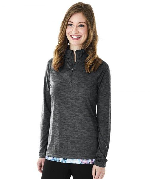 fläckig grå, replika golftröja med svarta skinny jeans