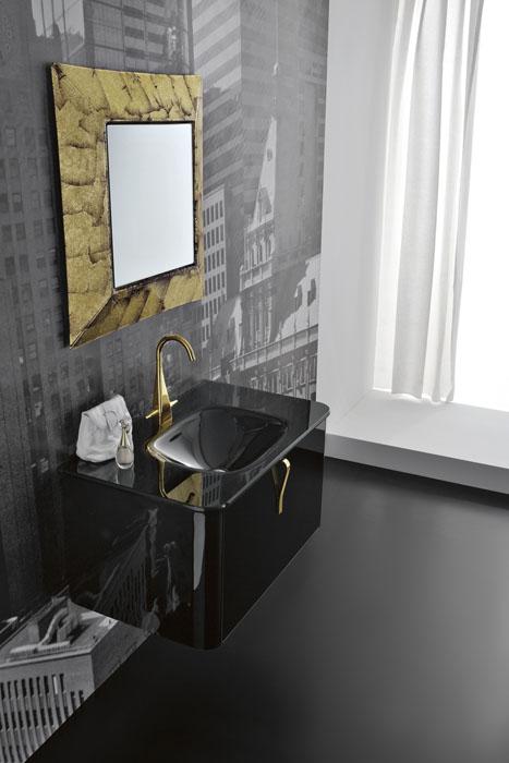 Nya moderna väggmonterade tvättställsskåp av QIN - DigsDi