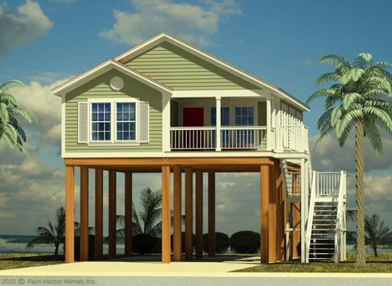 Byggt på styltor: Karrie Jacobs på en konstig ny typ av hus.