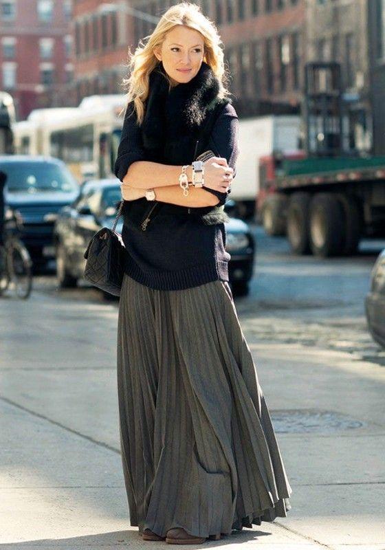 elastisk midja kjol tunika