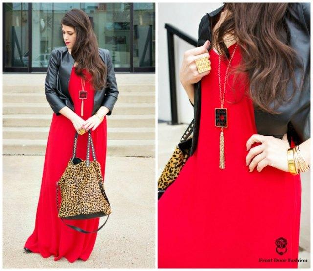 svart läderjacka outfit