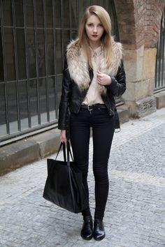 svarta skinny jeans ankel stövlar
