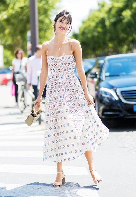 Parisienne virkad klänning