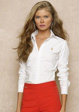 vit slim fit skjorta röd penna kjol
