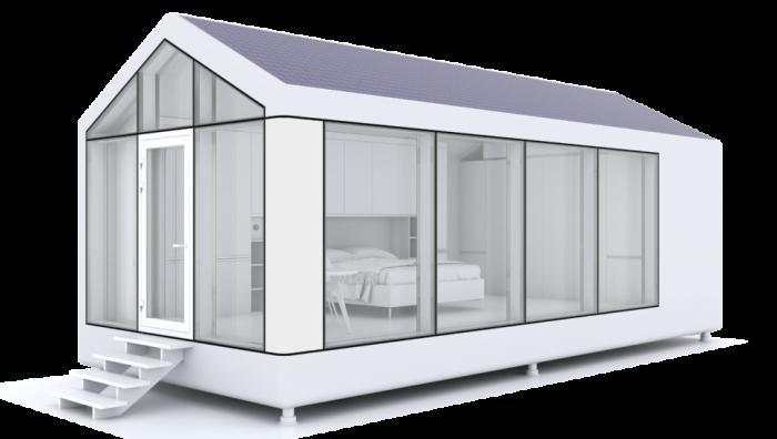 Kolla in detta 3D-tryckta smarta hem!  - Av Grid Wor