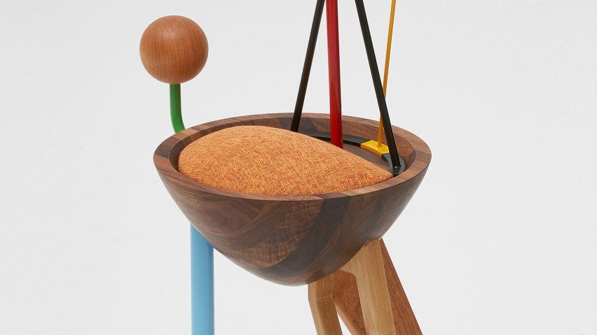 WoongKi Ryus Abstraction-stol tar ledtrådar från verk från Kandins