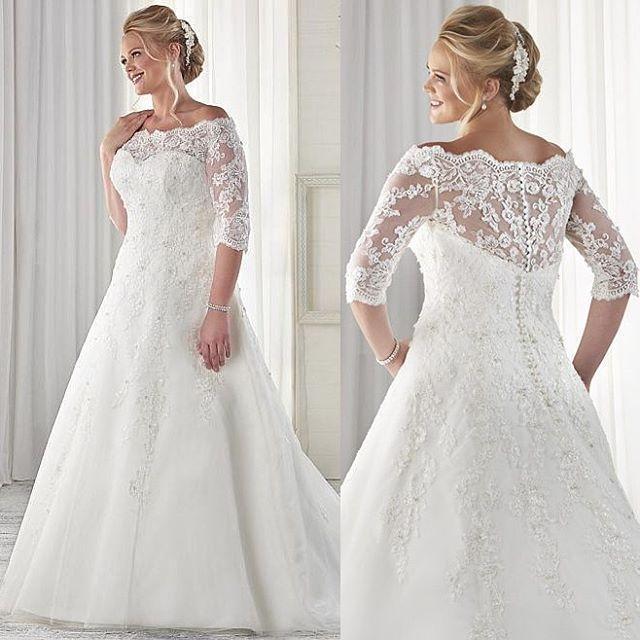 Custom Plus Size Wedding Dresses Ideas 1 i 2020 (med bilder.