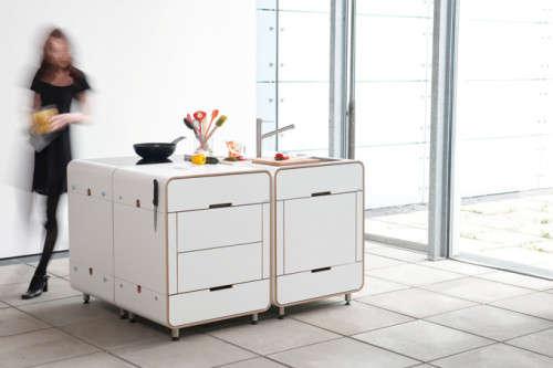 Anpassningsbara modulära kökinstallationer: A la carte-kök