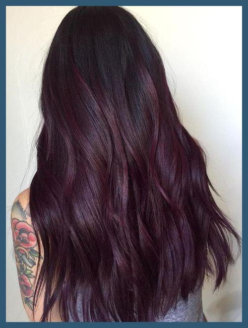 Plommonhårfärger 52858 Awesome Trendy Mauve Hair Color - Tutoria