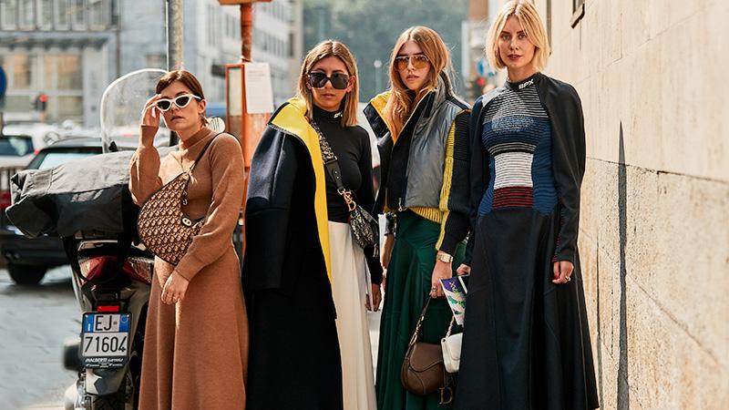 Den bästa gatustilen från modeveckan i Milano vår / sommar 20