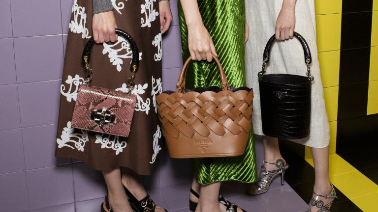 Fashionistas 33 favoritväskor från Milanos banor under våren 2020.