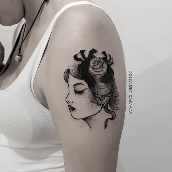 41 Unika Cancer Zodiac Tatueringar för Moonchi
