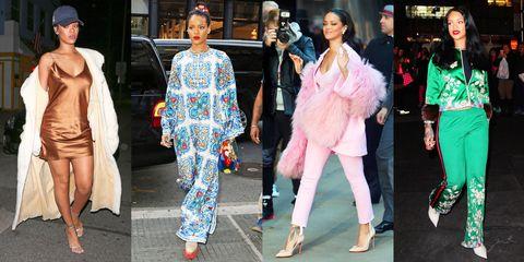 Rihannas bästa kläder - Rihanna Fashion Evolution och Style Phot