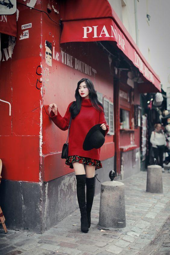 Bästa dagliga outfit i februari 2020 (med bilder)    Koreanskt mode.