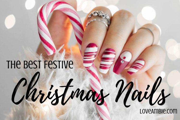 51 festliga julnagelkonstidéer: Holiday Nail Designs (2020 Guid