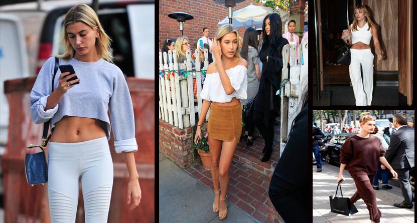 49 fantastiska idéer för damstil Hailey Baldwin Style |  Mode .