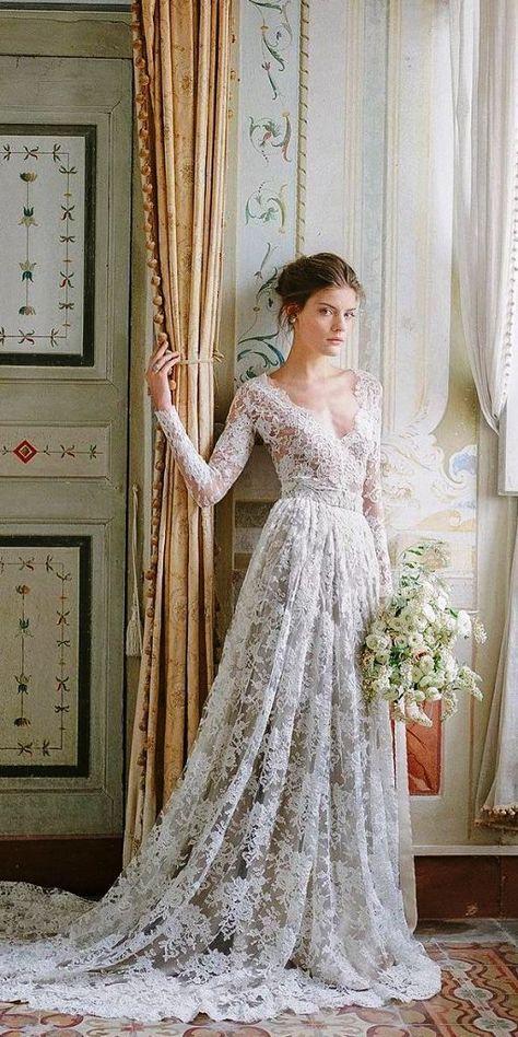 20 bästa vintage bröllopsklänningsidéer du kan prova - Instaloverz.