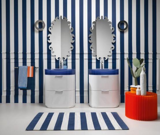 Bilbao - Moderna väggmonterade toalettartiklar från Regia - DigsDi