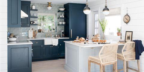 15 Blue Kitchen Design Ideas - Blue Kitchen Wal