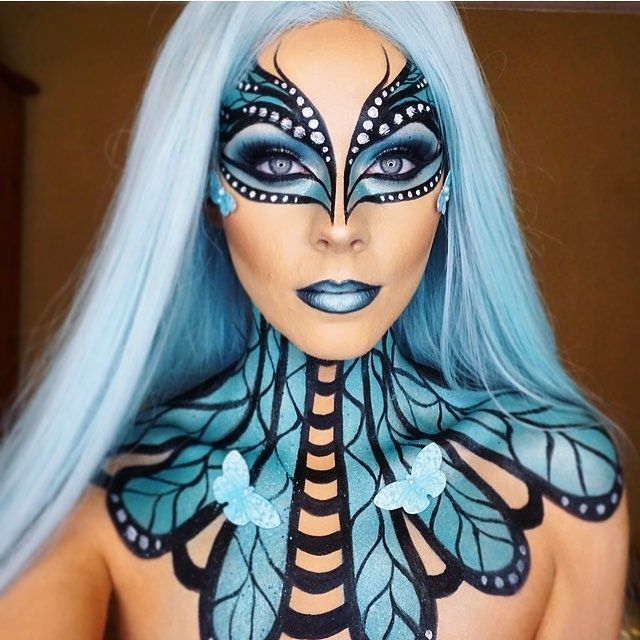 Butterfly Fantasy Make Up - fashiondiys.com 2020 |  Älva.
