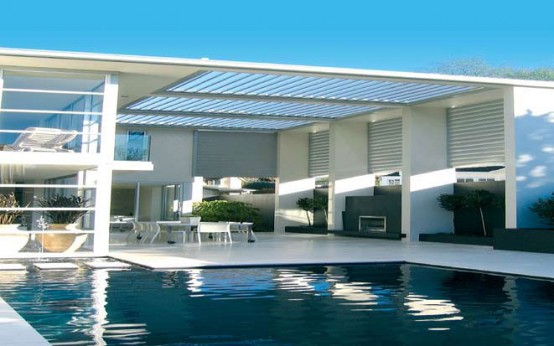 Cool Idea for Patio - Opening Roofs av Louvretec - DigsDi