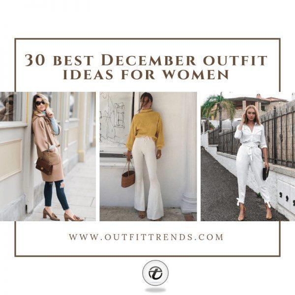 30 bästa kläder att ha på sig i december för kvinnor 20