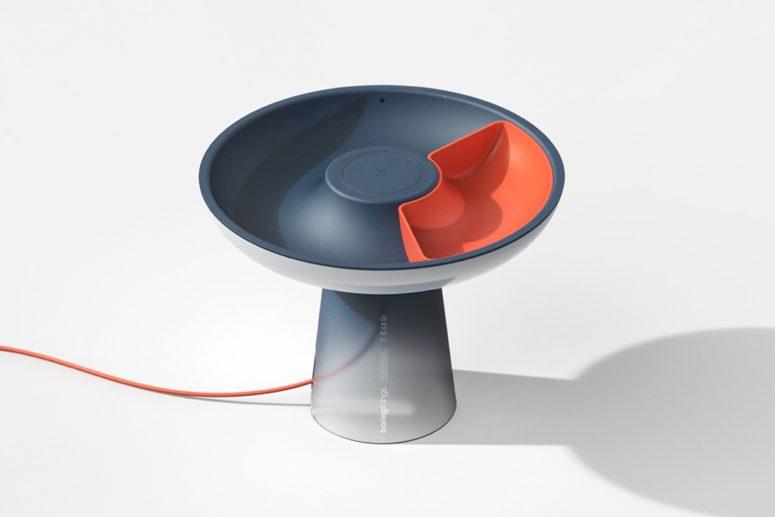 Svamp sänglampa med djärv modern design - DigsDi