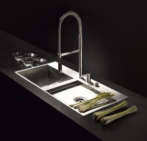 Tvättställ / tvättställ / stål VATTENHETER DORNBRACHT |  Dornbracht.