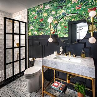 75 vackra eklektiska badrumsbilder och idéer - september 2020.