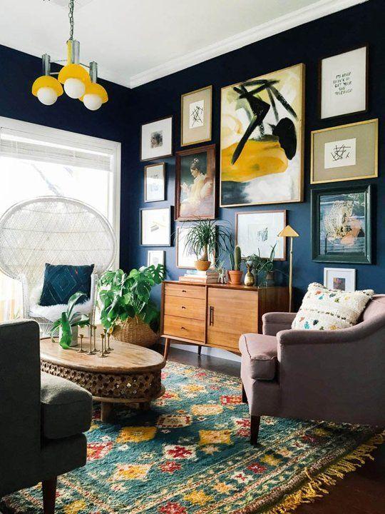 Det nya vardagsrummet: 4 topptrender |  Nytt vardagsrum, eklektiskt hem.