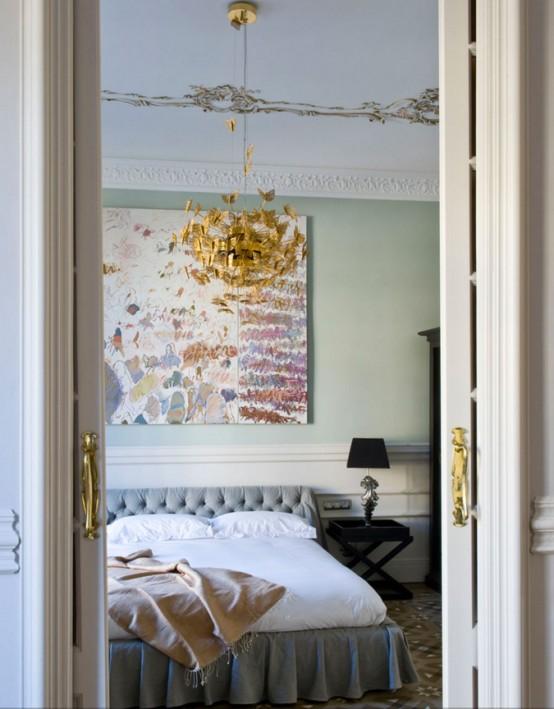 Elegant och fridfull kvinnlig sovrumsdesign - DigsDi