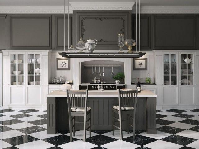 Designa det perfekta gråköket    Lantligt kök.