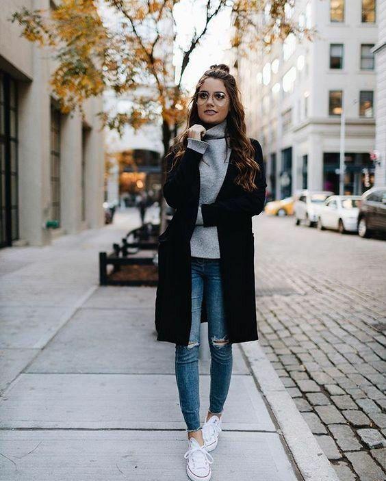 10+ idéer för vinterkläder |  Hösttrender outfits, Mode, Casual.