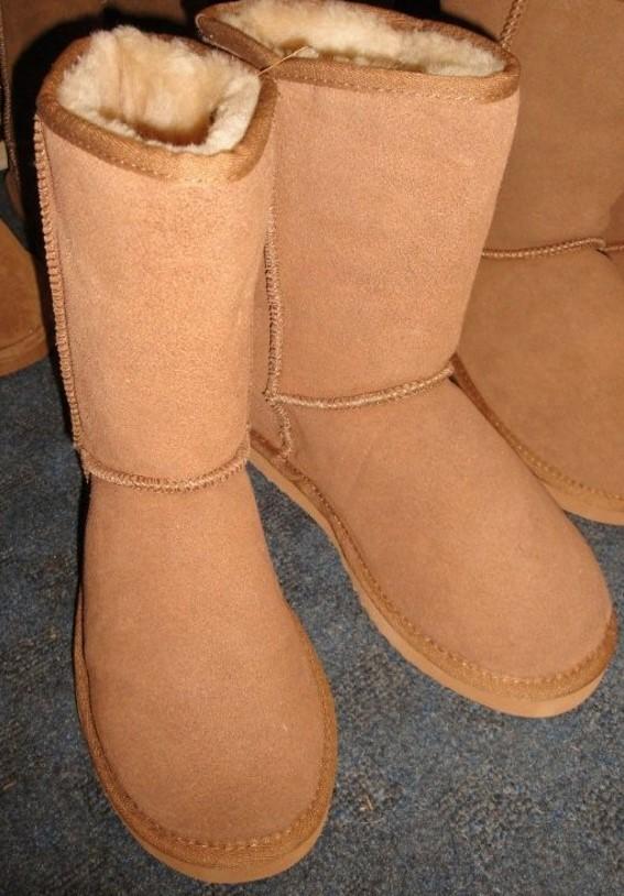 Sheepskin Shearling Boots för kvinnor - Sickafus Sheepskins & Shearlin