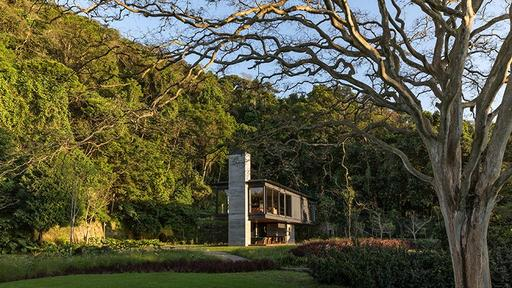 Olson Kundigs Rio House i Brasilien är en avlägsen regnskog.