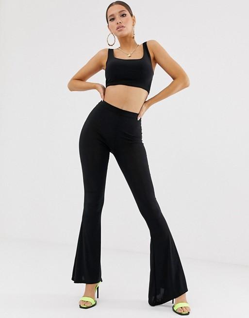 Fashionkilla svarta byxor i svart |  SOM