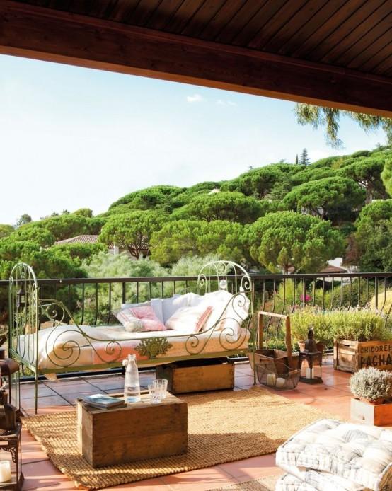 34 Raffinerade Provence-inspirerade terrassinredningsidéer - DigsDi