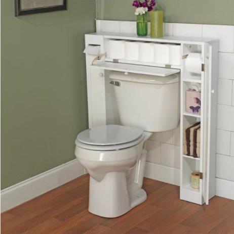 Badrumsförvaringstillbehör för boende i lägenheter under 100 $.